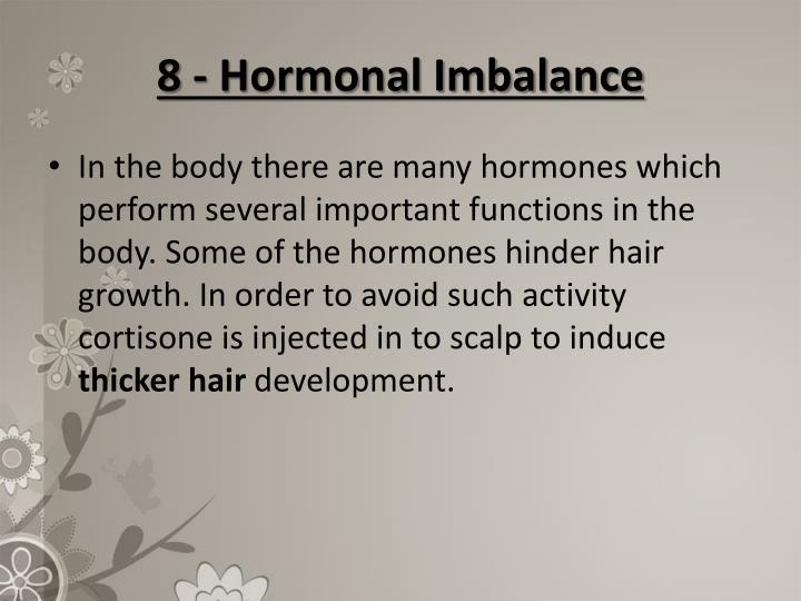 8 - Hormonal Imbalance