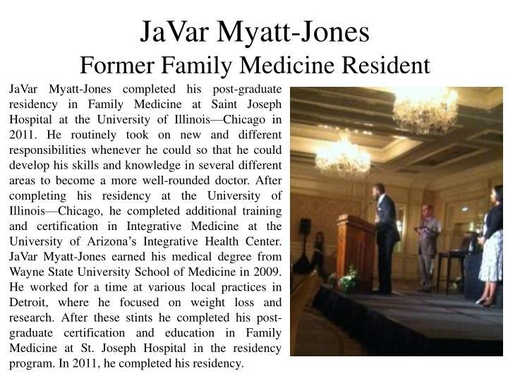 JaVar Myatt-Jones