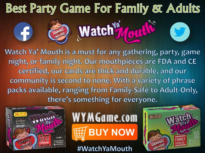 Best party game for family adults watch ya mouth