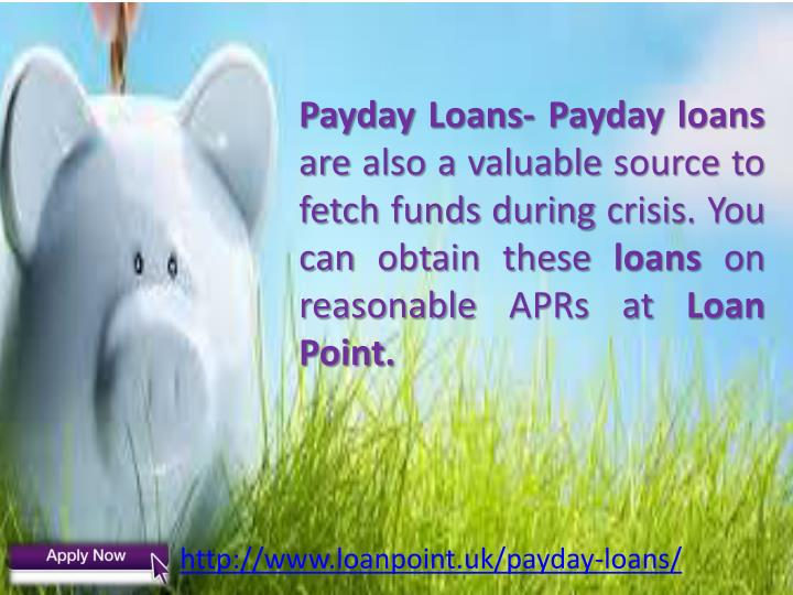 Payday Loans-