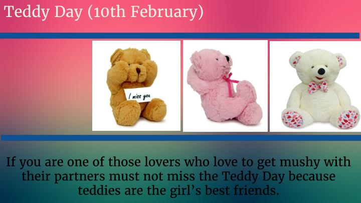 Teddy Day (10th February)