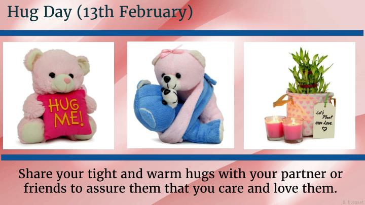 Hug Day (13th February)