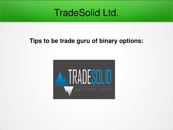 TradeSolid Ltd.
