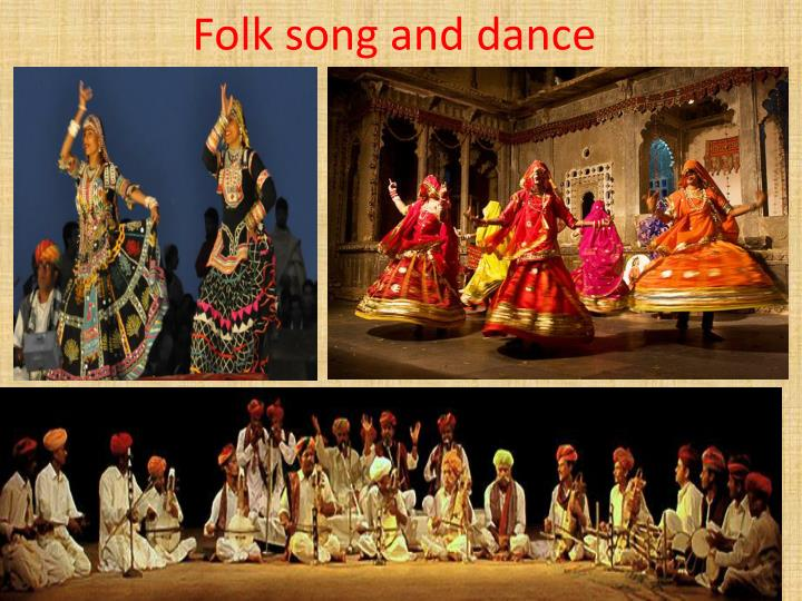 Folk song and dance