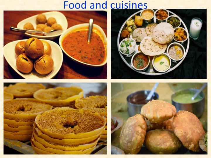 Food and cuisines