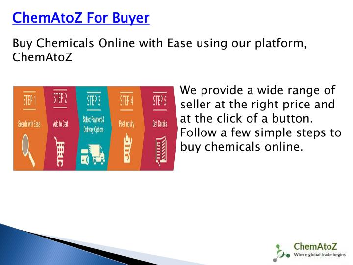 ChemAtoZ For Buyer