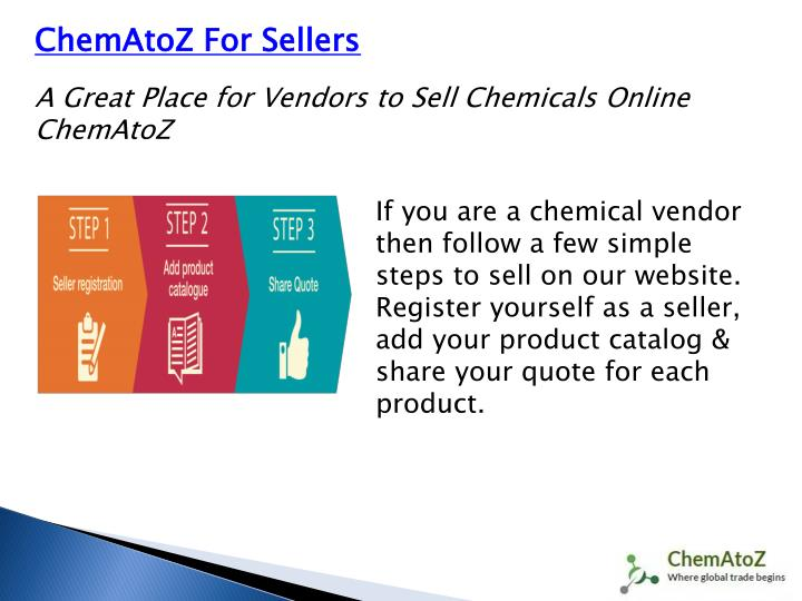 ChemAtoZ For Sellers