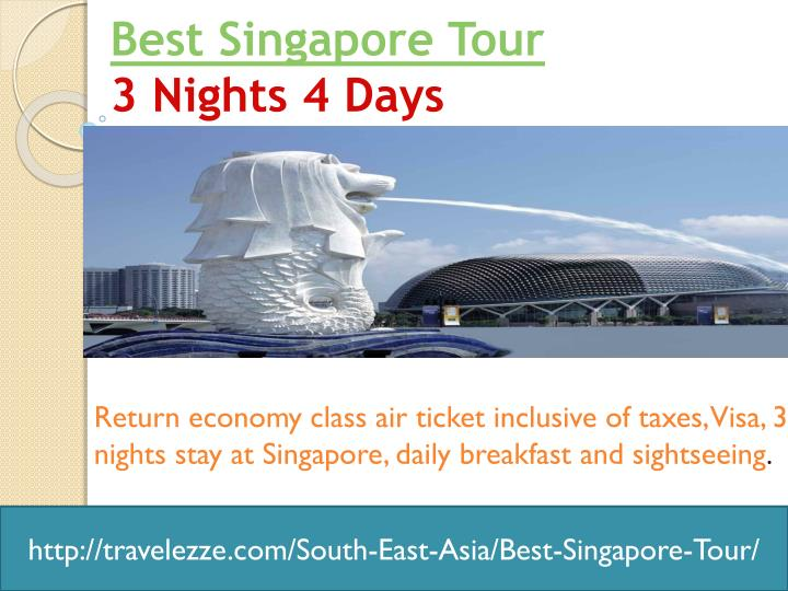 Best singapore tour 3 nights 4 days
