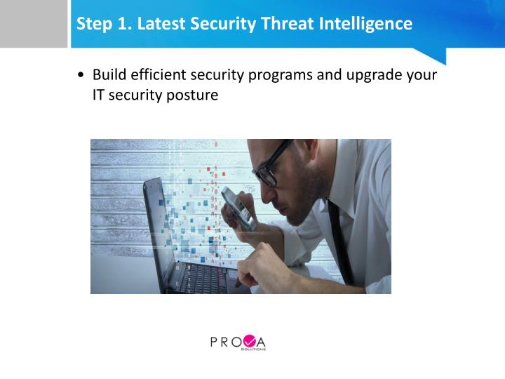 Step 1. Latest Security Threat Intelligence