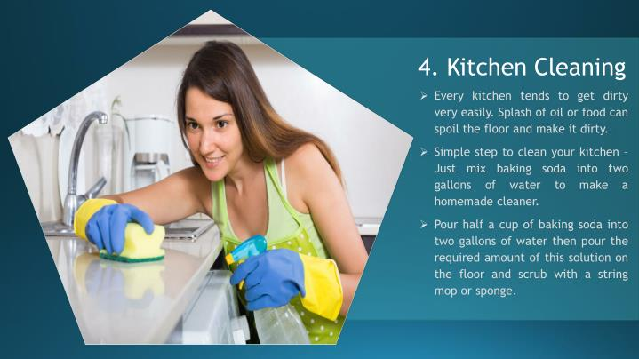 4. Kitchen Cleaning