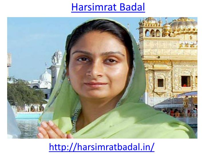 Harsimrat Badal