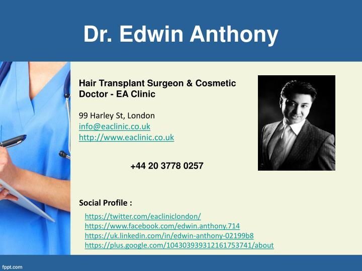 Dr. Edwin Anthony