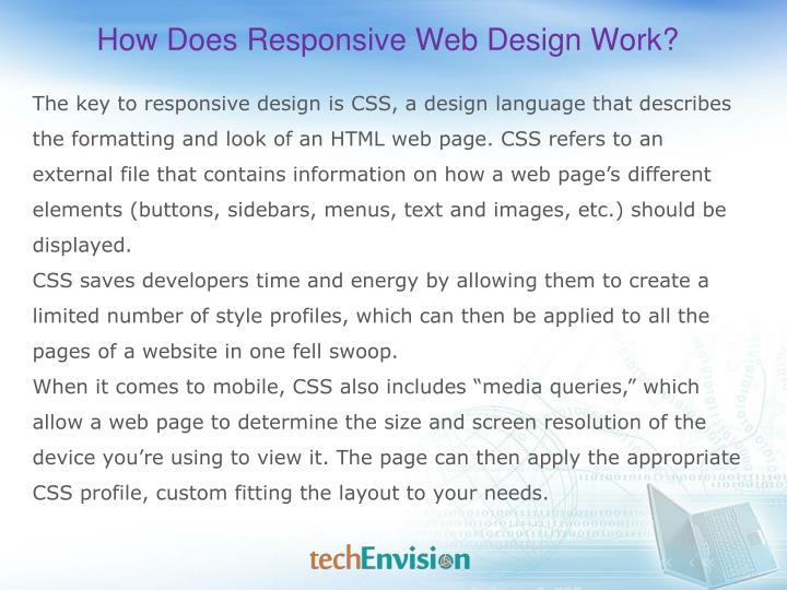 How Does Responsive Web Design Work?