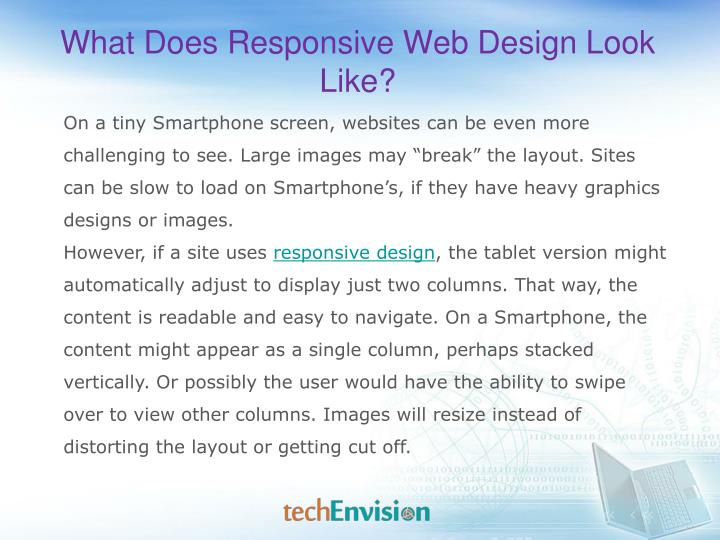 What Does Responsive Web Design Look Like?