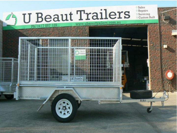 U beaut trailers 8 5 single axle heavy duty trailers