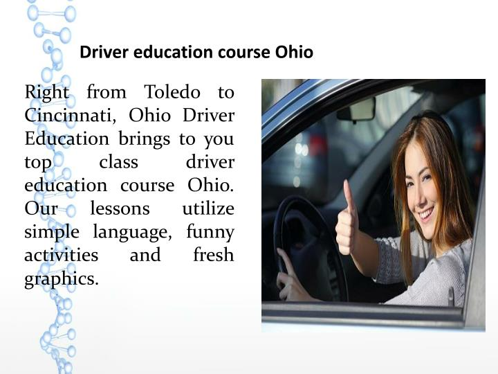 Driver education course Ohio
