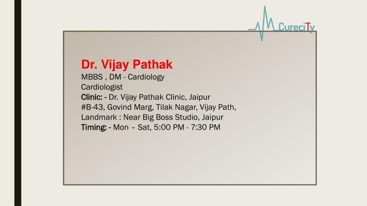 Dr. Vijay Pathak