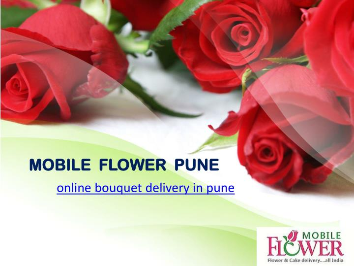 MOBILE  FLOWER  PUNE