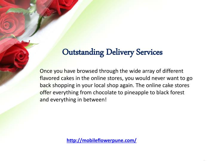 Outstanding Delivery Services