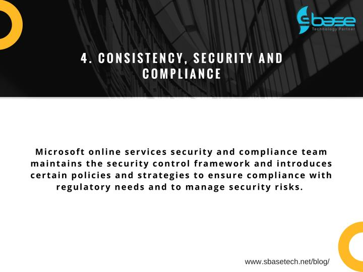 4. CONSISTENCY, SECURITY AND