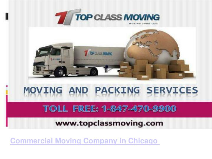 Commercial Moving Company in Chicago
