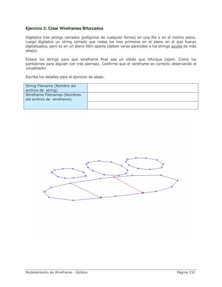 Ejercicio 2: Crear Wireframes Bifurcados