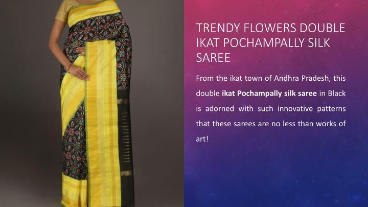 Trendy Flowers Double