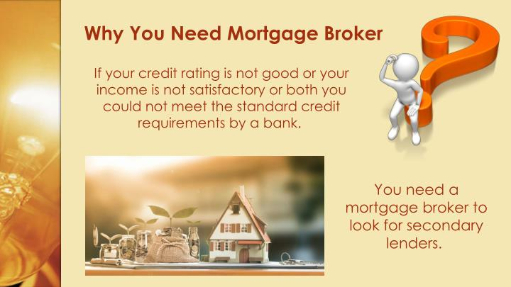 Why You Need Mortgage Broker