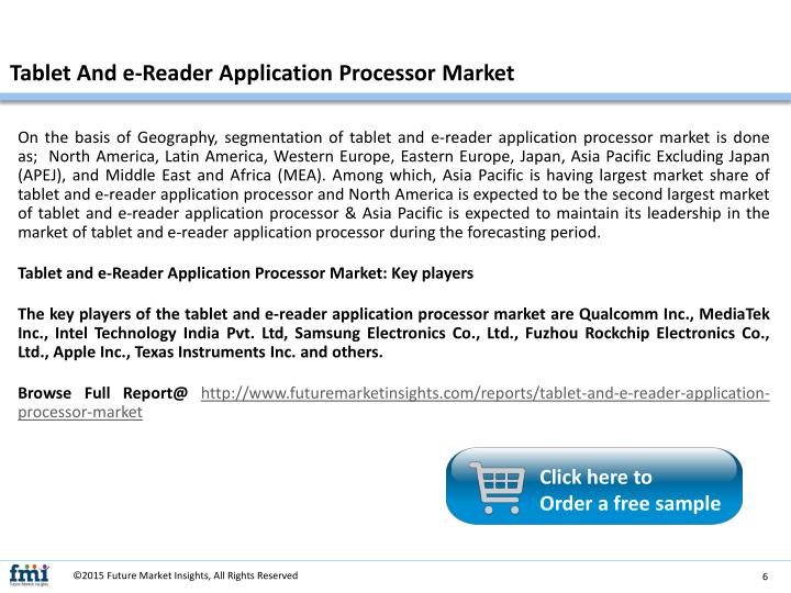 Tablet And e-Reader Application Processor Market