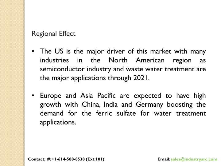Regional Effect
