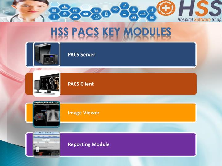 HSS PACS Key Modules