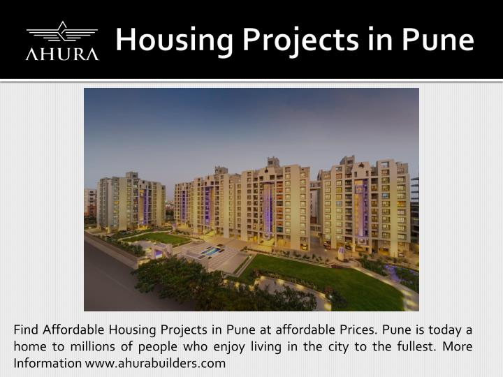 Find Affordable Housing Projects in Pune at affordable Prices. Pune is today a