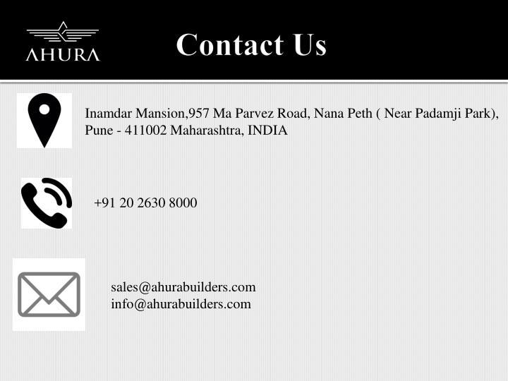 Inamdar Mansion,957 Ma Parvez Road, Nana Peth ( Near Padamji Park),
