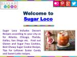 welcome to sugar loco