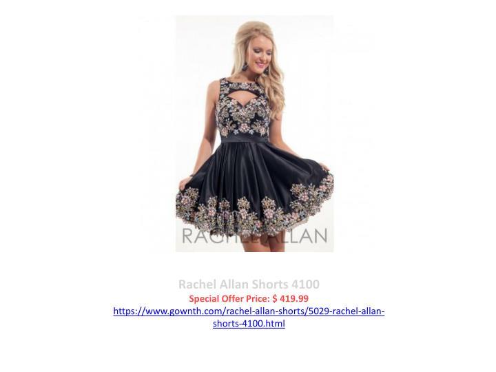 Rachel Allan Shorts 4100