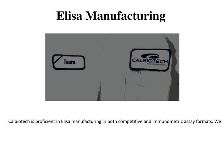Elisa Manufacturing