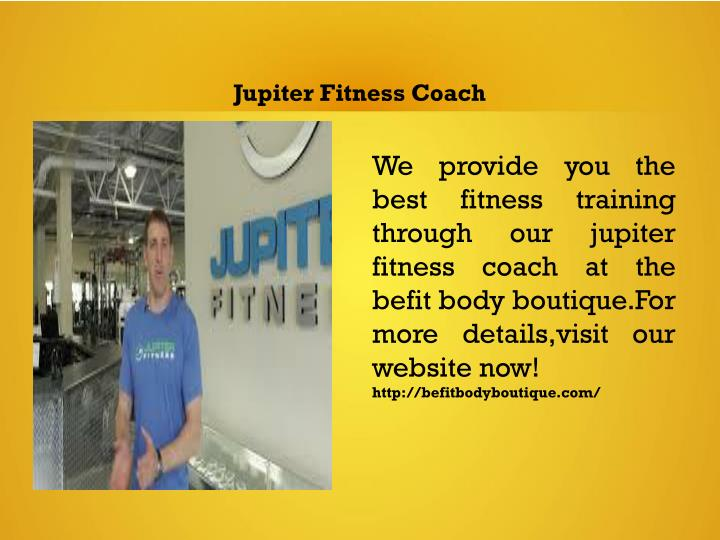 Jupiter Fitness Coach