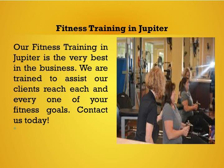 Fitness Training in Jupiter