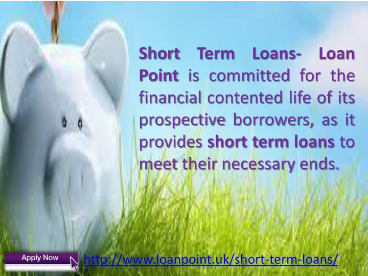 Short Term Loans-