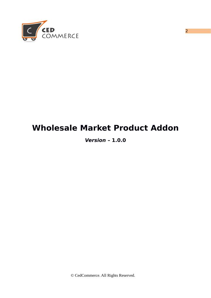 Wholesale market product addon for woocommerce