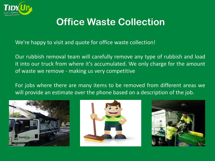 Office Waste Collection