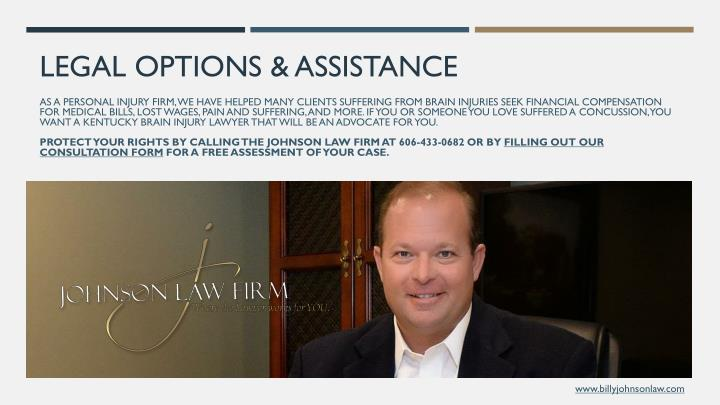 LEGAL OPTIONS & ASSISTANCE