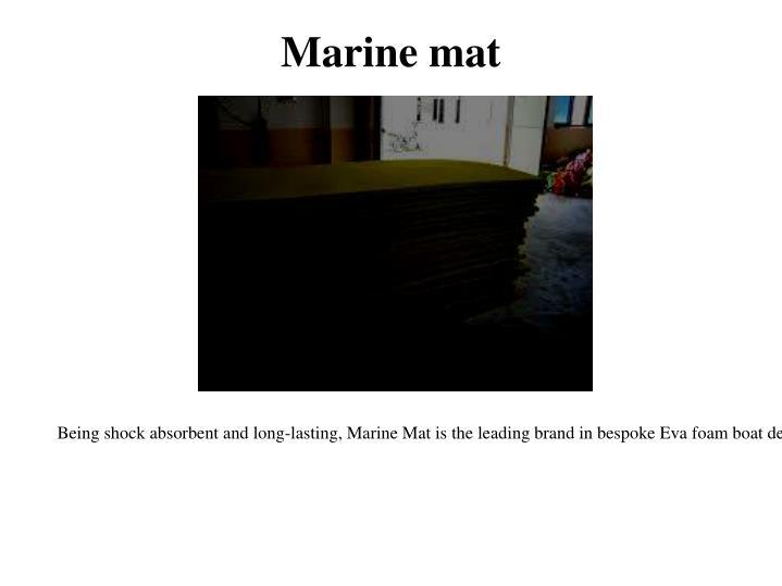 Marine mat