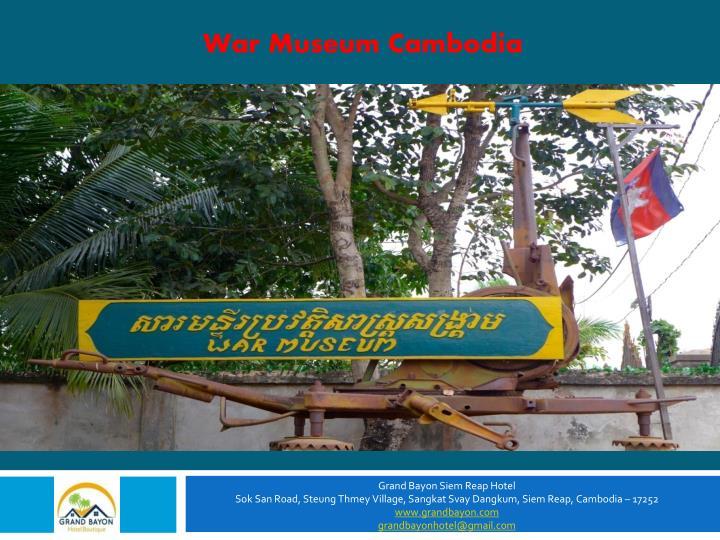 War Museum Cambodia