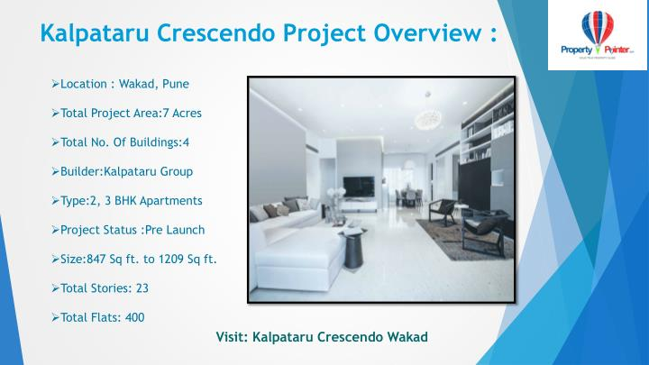 Kalpataru crescendo project overview