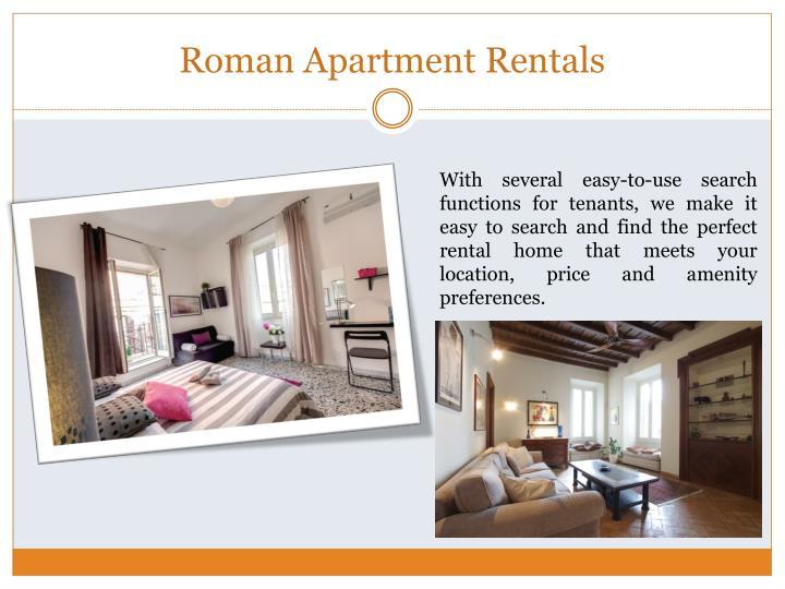 Roman Apartment Rentals