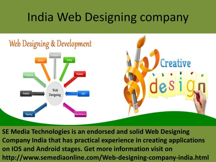 India Web Designing company