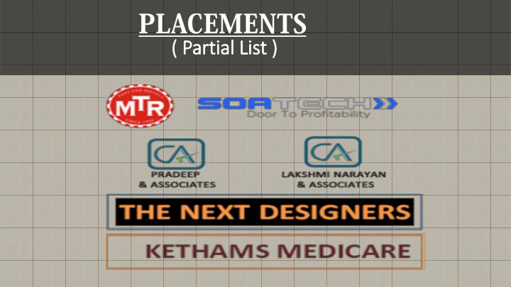 PLACEMENTS