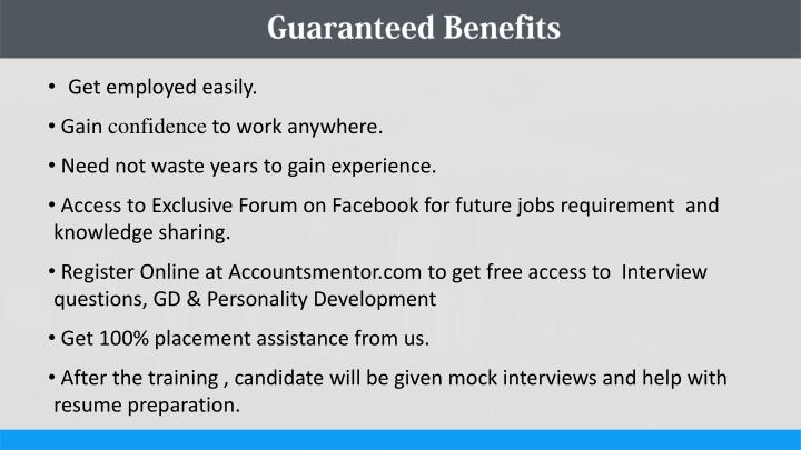 Guaranteed Benefits