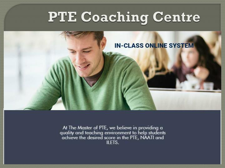 Pte coaching centre
